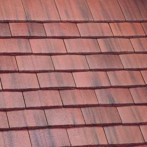 Marley Plain Tile Old English Dark Red