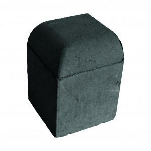 Brett High Kerb Corner External Charcoal 150x150x200mm Bullnose