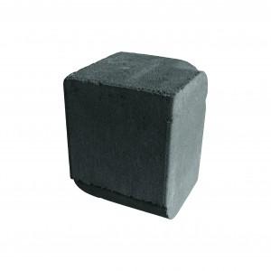 Brett High Kerb Corner Internal Charcoal 150x150x200mm Bullnose
