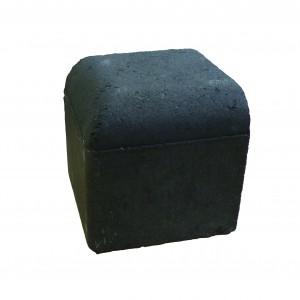 Brett Drivestyle Kerb Corner External Charcoal 125x125x125mm Bullnose