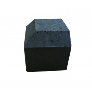 Brett Drivestyle Kerb Corner External Charcoal 125x125x125mm Splayed