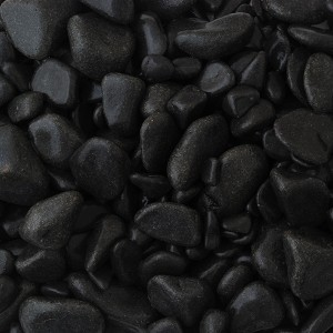 Black Pebbles Handy Bag