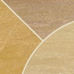 Raj Blend Sandstone Circle