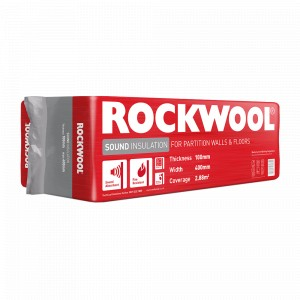 100mm Rockwool Sound Insulation