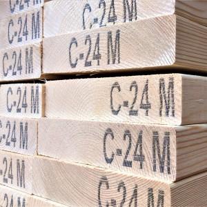47mm x 125mm Sawn Carcassing C16/C24