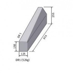 Drop Kerb 225mmx125mm/125mmx150mm Left Hand
