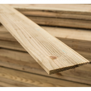 Treated Featheredge Board 1800x125mm
