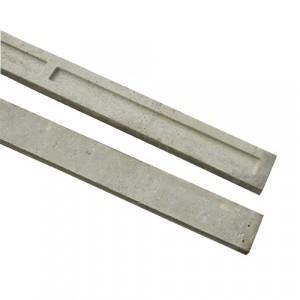 6' x 6'' Recessed Concrete Gravel Board
