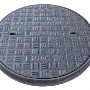 450 Dia Ductile Iron Driveway MHC&F A15 (E10AC)