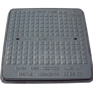 600 x 600 Cast Iron MHC&F B125 (KD3440S)
